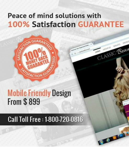 899 Custom Mobile Friendly Website Design By Go Web Professional Affordable
